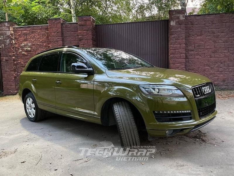 TeckWrap CG29 HD 2 Audi Q7 dán decal đổi màu TeckWrap CG29-HD Khaki Green