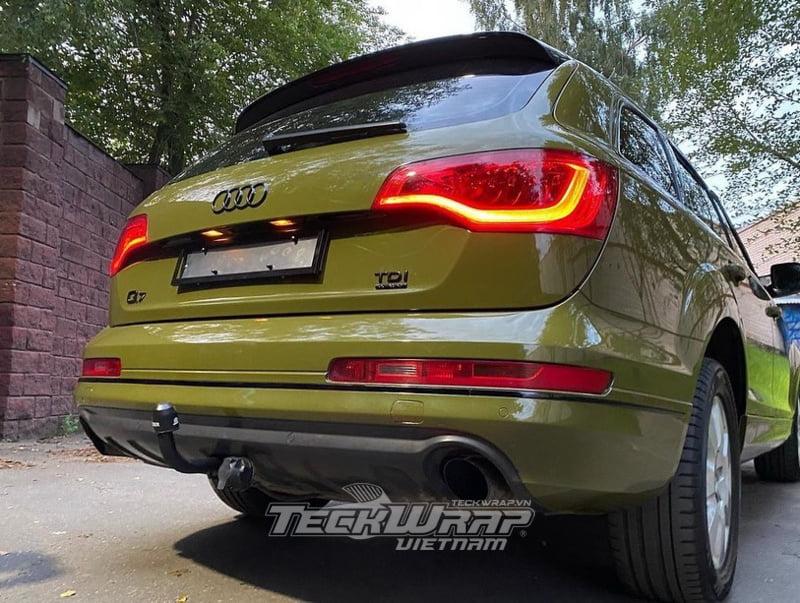 TeckWrap CG29 HD 4 Audi Q7 dán decal đổi màu TeckWrap CG29-HD Khaki Green