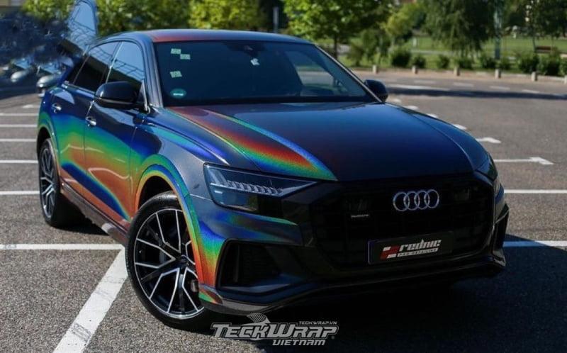 TeckWrap Vietnam RD11G 1 Audi dán decal đổi màu chuyển sắc TeckWrap RD11G Rainbow Vorte