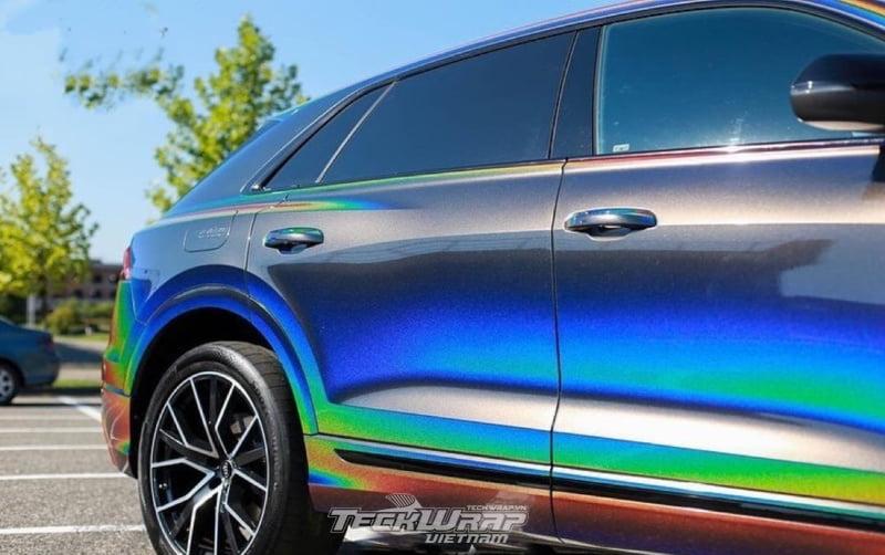 TeckWrap Vietnam RD11G 5 Audi dán decal đổi màu chuyển sắc TeckWrap RD11G Rainbow Vorte