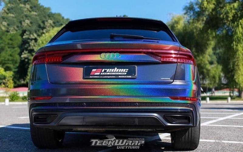TeckWrap Vietnam RD11G 7 Audi dán decal đổi màu chuyển sắc TeckWrap RD11G Rainbow Vorte