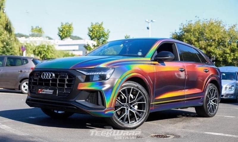 TeckWrap Vietnam RD11G 8 Audi dán decal đổi màu chuyển sắc TeckWrap RD11G Rainbow Vorte
