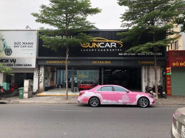 suncar 5 Địa Chỉ Dán Decal TeckWrap Uy Tín tại Hà Nội