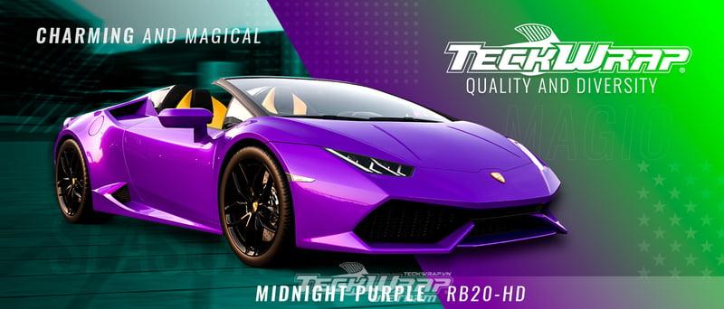 TeckWrap RB20 HD 5 Tình yêu giữ mùa thu với TeckWrap RB20-HD Midnight Purple